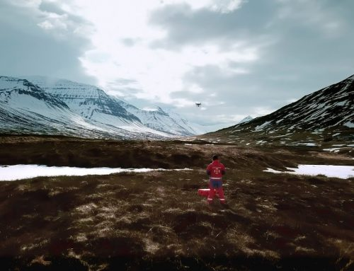Saved by a drone in Iceland