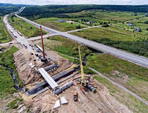 Hwy 400 Bridge Installation